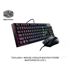 TECLADO + MOUSE COOLER MASTER STORM MASTERKEYS LITE L
