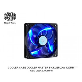 COOLER CASE COOLER MASTER SICKLEFLOW 120MM BLUE LED 2000RPM