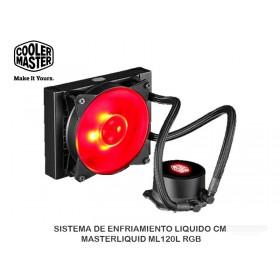 SISTEMA DE ENFRIAMIENTO LIQUIDO CM MASTERLIQUID ML120L RGB