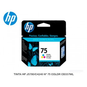 TINTA HP J5780/C4240 Nº 75 COLOR CB337WL