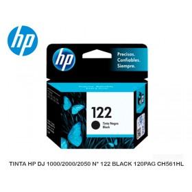 TINTA HP DJ 1000/2000/2050 N° 122 BLACK 120PAG CH561HL