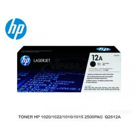 TONER HP 1020/1022/1010/1015 2500PAG  Q2612A