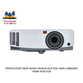PROYECTOR VIEW SONIC PA503X DLP XGA 3600 LUMENES HDMI RGB VGA