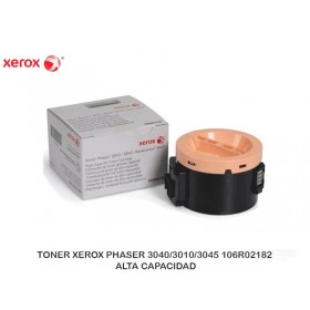 TONER XEROX PHASER 3040/3010/3045 106R02182 ALTA CAPACIDAD