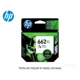 TINTA HP COLOR N° 662XL CZ106AL