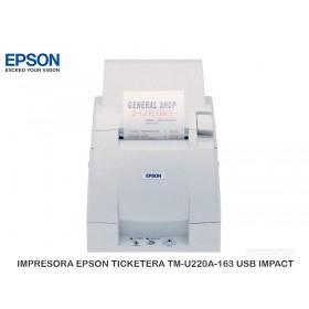 IMPRESORA EPSON TICKETERA TM-U220A-163 USB IMPACT