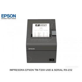 IMPRESORA EPSON TM-T20II USB & SERIAL RS-232