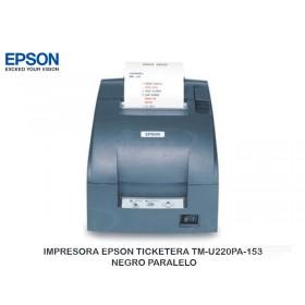IMPRESORA EPSON TICKETERA TM-U220PA-153 NEGRO PARALELO