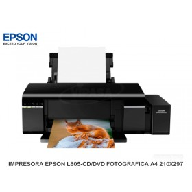 IMPRESORA EPSON L805-CD/DVD FOTOGRAFICA A4 210X297
