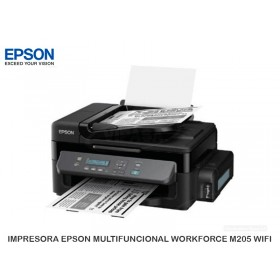 IMPRESORA EPSON MULTIFUNCIONAL WORKFORCE M205 WIFI