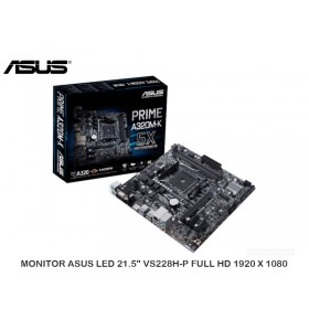 PLACA ASUS PRIME A320M-K, VD/SN/NW, AM4, AMD A320, DDR4, SATA 6.0, USB 3.1