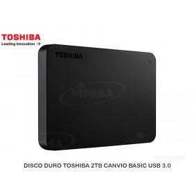 DISCO DURO TOSHIBA 2TB CANVIO BASIC USB 3.0