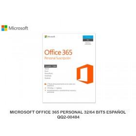 MICROSOFT OFFICE 365 PERSONAL 32/64 BITS ESPAÑOL QQ2-00484