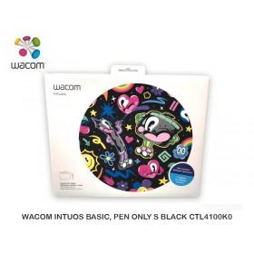 WACOM INTUOS BASIC, PEN OLNY S BLACK CTL4100K0