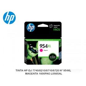 TINTA HP OJ 7740/8210/8710/8720 N° 954XL MAGENTA 1600PAG L0S65AL