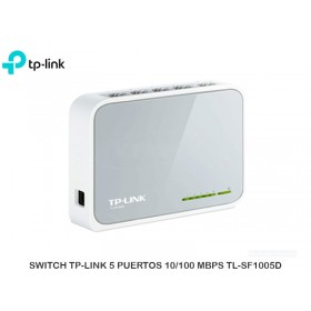 SWITCH TP-LINK 5 PUERTOS 10/100 MBPS TL-SF1005D