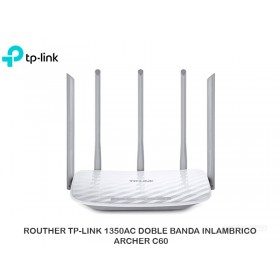 ROUTHER TP-LINK 1350AC DOBLE BANDA INLAMBRICO ARCHER C60