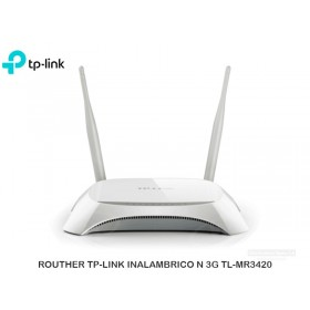 ROUTHER TP-LINK INALAMBRICO N 3G TL-MR3420