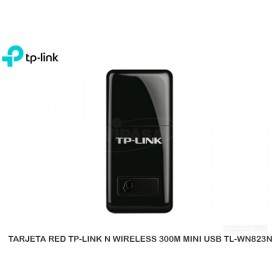 TARJETA RED TP-LINK N WIRELESS 300M MINI USB TL-WN823N