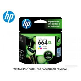 TINTA HP N° 664XL 330 PAG COLOR F6V30AL