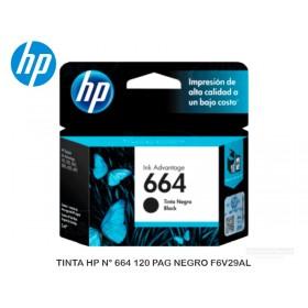 TINTA HP N° 664 120 PAG NEGRO F6V29AL