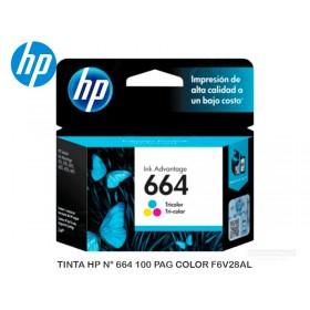 TINTA HP N° 664 100 PAG COLOR F6V28AL
