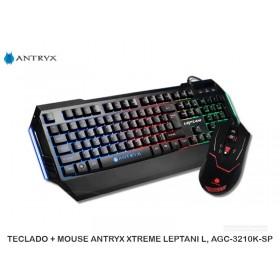 TECLADO + MOUSE ANTRYX XTREME LEPTANI L, AGC-3210K-SP