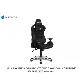 SILLA ANTRYX GAMING XTREME RACING SILVERSTONE BLACK (AXR-6001-4K)