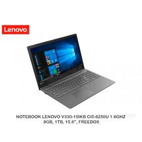 "NOTEBOOK LENOVO V330-15IKB CI5-8250U 1.6GHZ, 8GB, 1TB, 15.6"", FREEDOS"