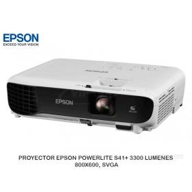 PROYECTOR EPSON POWERLITE S41+ 3300 LUMENES 800X600, SVGA