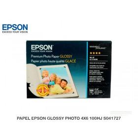 PAPEL EPSON GLOSSY PHOTO 4X6 100HJ S041727