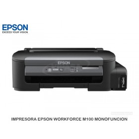 IMPRESORA EPSON WORKFORCE M100 MONOFUNCION