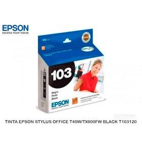 TINTA EPSON STYLUS OFFICE T40W/TX600FW BLACK T103120