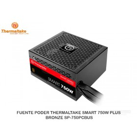 FUENTE PODER THERMALTAKE SMART 750W PLUS BRONZE SP-750PCBUS