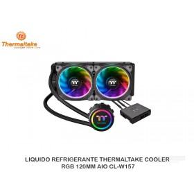 LIQUIDO REFRIGERANTE THERMALTAKE COOLER RGB 120MM AIO CL-W157