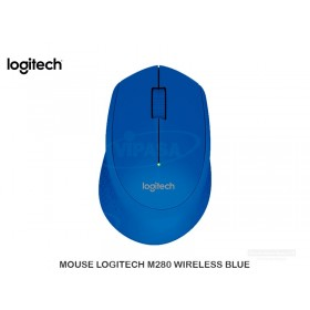 MOUSE LOGITECH M280 WIRELESS BLUE