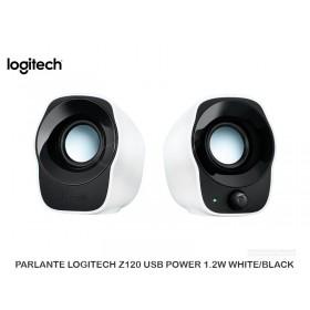 PARLANTE LOGITECH Z120 USB POWER 1.2W WHITE/BLACK