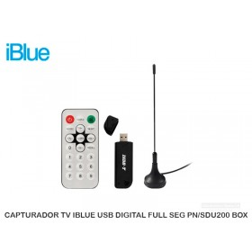 CAPTURADOR TV IBLUE USB DIGITAL FULL SEG PN/SDU200 BOX