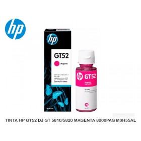 TINTA HP GT52 DJ GT 5810/5820 MAGENTA 8000PAG M0H55AL