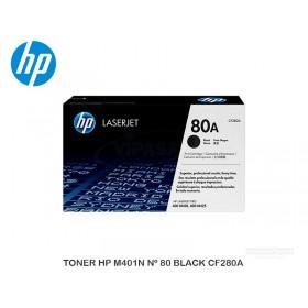 TONER HP M401N Nº 80 BLACK CF280A