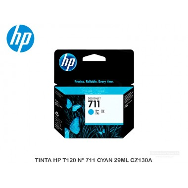 TINTA HP T120 N° 711 CYAN 29ML CZ130A