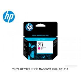 TINTA HP T120 N° 711 MAGENTA 29ML CZ131A
