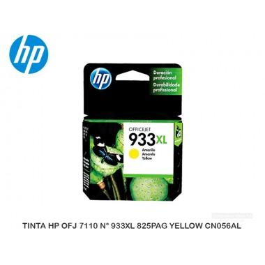TINTA HP OFJ 7110 N° 933XL 825PAG YELLOW CN056AL