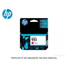 TINTA HP N° 951 MAGENTA 700 PAG CN051AL