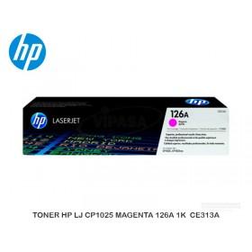 TONER HP LJ CP1025 MAGENTA 126A 1K  CE313A
