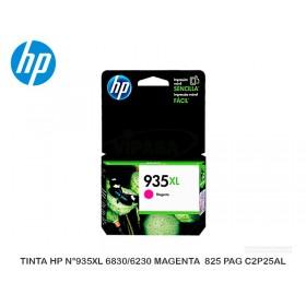 TINTA HP N°935XL 6830/6230 MAGENTA  825 PAG C2P25AL