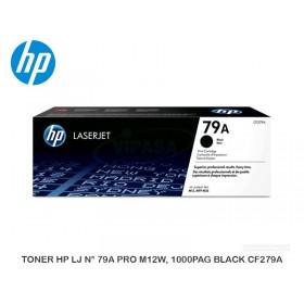 TONER HP LJ N° 79A PRO M12W, 1000PAG BLACK CF279A