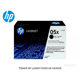 TONER HP LASER P2055 6K CE505X