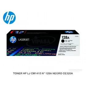 TONER HP LJ CM1415 N° 128A NEGRO CE320A